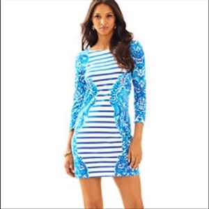 b9808ff486501c Lilly Pulitzer Dresses - Lilly Pulitzer Moon Jellies Striped Nila Dress XS